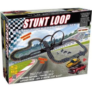 Electric Power Stunt Loop Road Racebaan