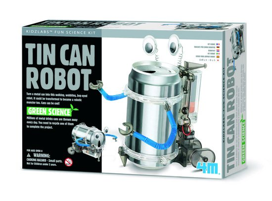 Fun Mechanics Robot uit blik