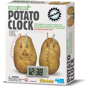Kidzlabs Green Science Potato Clock