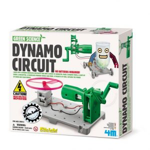 Kidzlabs Green Science Dynamo Circuitboard