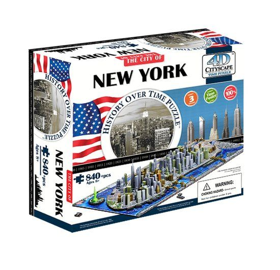 4D puzzel New York