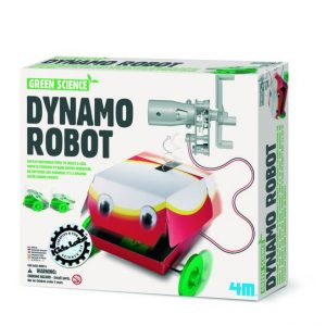 Kidzlabs Green Science Dynamo Robot