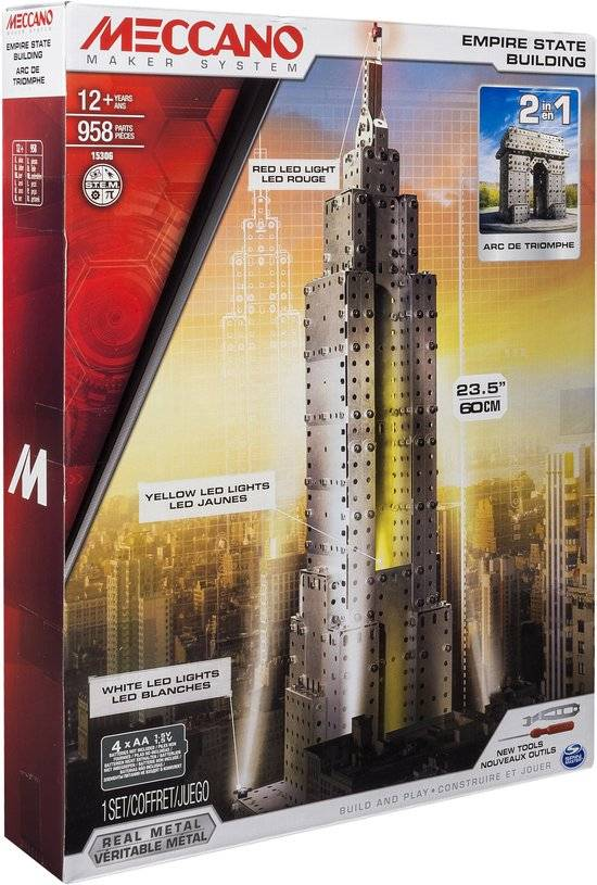 Bouwset Empire state Building - 2 in 1