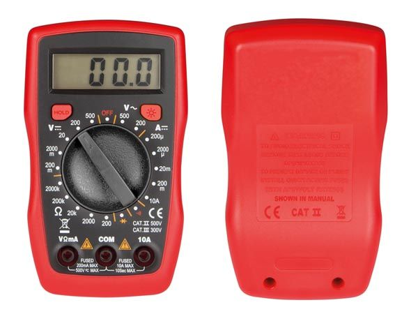 Digitale Multimeter Cat III 300V - 10A