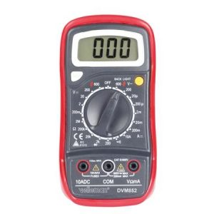 Digitale Multimeter Cat III 600V - 10A