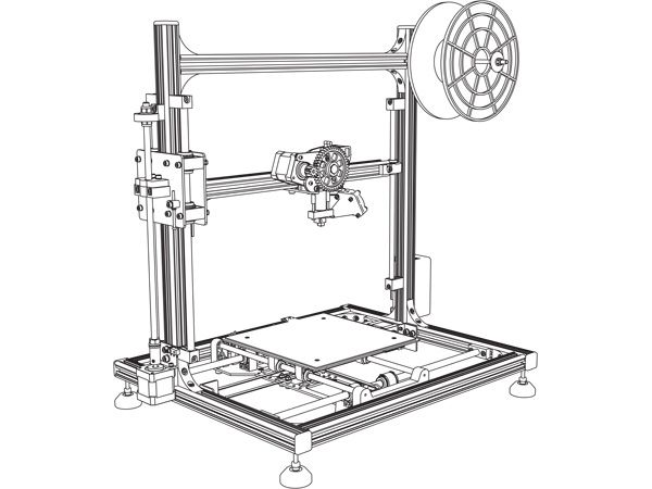 K8200 3D-Printer bouwpakket